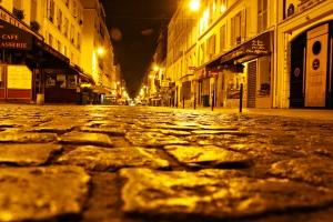 rue Cler cobblestones